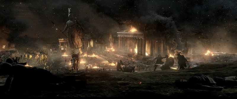 Athen soll brennen: Der Perser-König Xerxes befiehlt die Belagerung Athens durch seine Armee, um Griechenland ein für alle Mal einzunehmen und Rache an seinen getöteten Vater zu nehmen ... – Bild: Puls 4