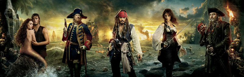 PIRATES OF THE CARIBBEAN - FREMDE GEZEITEN - Artwork – Bild: Puls 4