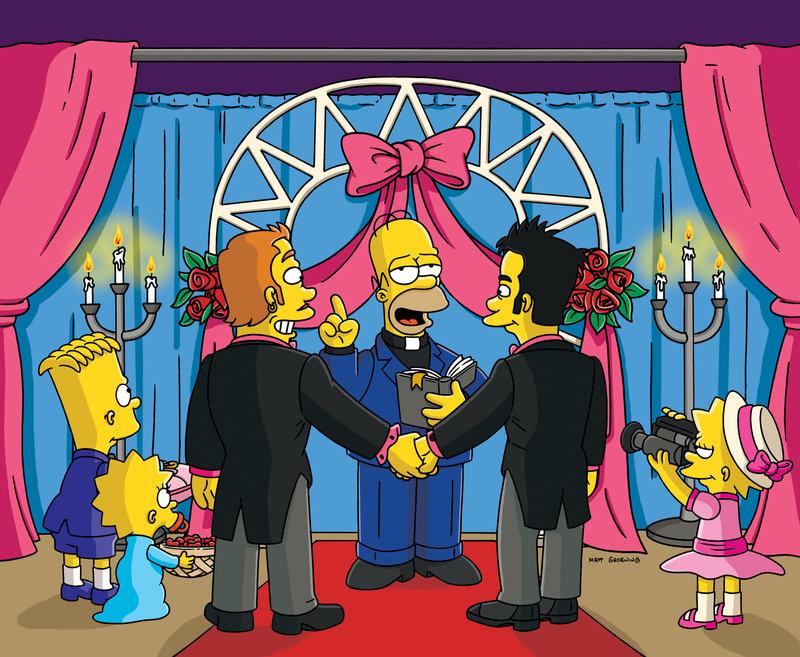 Um den Tourismus in Springfield wieder anzukurbeln, hat Lisa (r.) eine gute Idee. Bart (l.), Homer (2.v.r.) und Maggie (2.v.l.) sind natürlich mit dabei ... – Bild: Puls 8