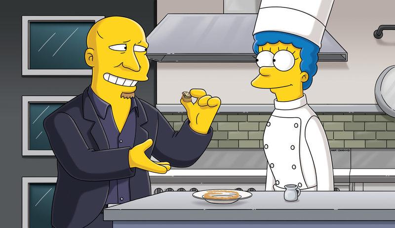 Marge (r.) träumt von einem Zusammentreffen mit Tom Colicchio (l.). Doch wird das je stattfinden? – Bild: Puls 8