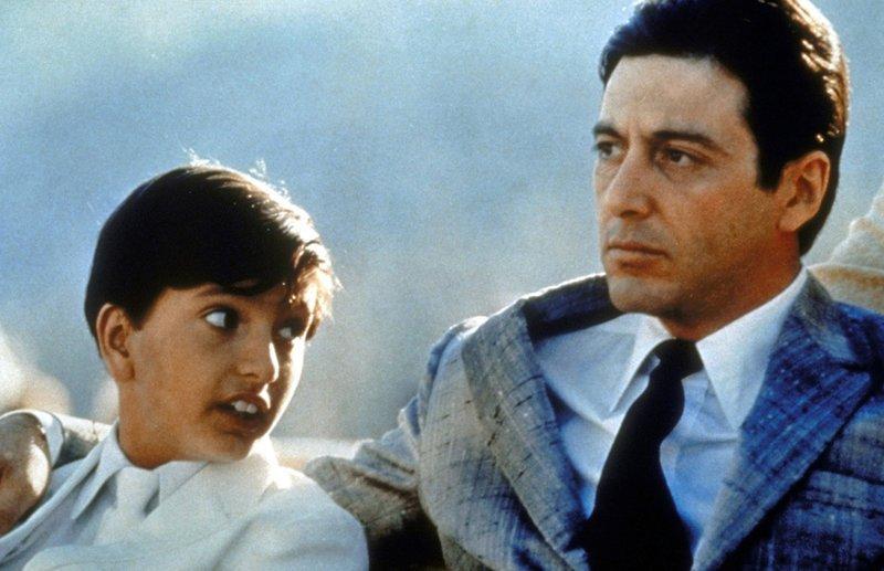 Der Pate Michael Corleone (Al Pacino, r.) ist seinem Sohn ein guter Vater… – Bild: Puls 8
