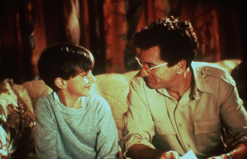 Seit David Merrils (Robert De Niro, r.) Karriere stagniert, kann er den finanziellen Verpflichtungen seinem Sohn Paulie (Luke Edwards, l.) und seiner Ex-Frau gegenüber nicht mehr nachkommen ... – Bild: Puls 8