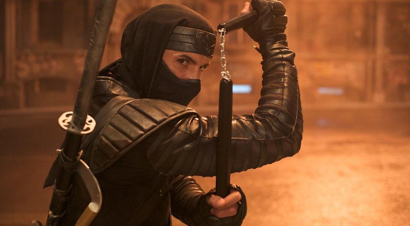 Aufgewachsen unter Japanern und ausgebildet in den Kampfkünsten der Ninja muss sich der Amerikaner Casey (Scott Adkins) den mörderischen Nachstellungen eines eifersüchtigen Rivalen erwehren ... – Bild: Puls 8