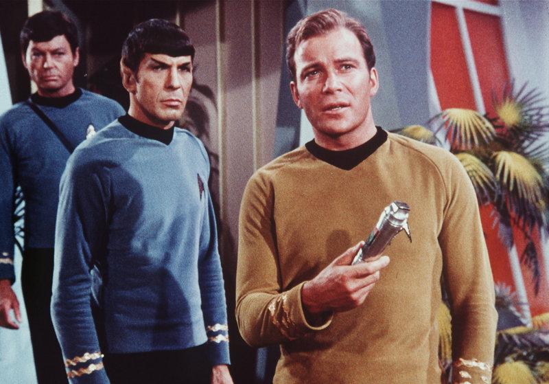 DeForest Kelley, Leonard Nimoy, Wiliam Shatner – Bild: NBC UNIVERSAL GLOBAL NETWORKS