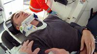 Der verletzte Skateboarder hatte Glück im Unglück.. – © RTL II