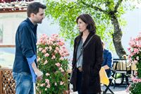 Jakob Seeböck (Lukas Roither), Julia Cencig (Nina Pokorny). – Bild: ORF eins