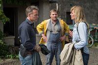 v.l.n.r.: Jan Maybach (Marco Girnth), Holger Wilms (Peter Moltzen), Ina Zimmermann (Melanie Marschke) – Bild: ZDF und Uwe Frauendorf