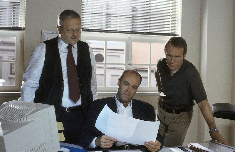 Werner Schnitzer, Peter Kremer, Robinson Reichel – Bild: ZDF