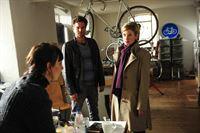 Martina Seiffert (Astrid M. Fuenderich, re.); Jo Stoll (Peter Ketnath, Mi.); Eva Muenster (Carol Schuler, li.) – © ZDF und Markus Fenchel