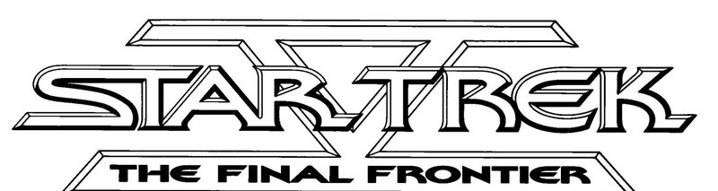 Star Trek V - The Final Frontier - Logo – Bild: 2003 By Paramount Pictures All Rights Reserved Lizenzbild frei