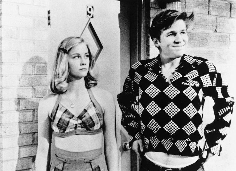 Umworben: Cybill Shepherd als Jacy Farrow, Jeff Bridges als Duane Jackson – Bild: SRF/Columbia Pictures