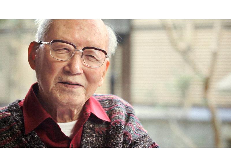 Der ehemalige Militärarzt Shuntaro Hida kämpft oft gegen das Vergessen – Bild: SRF/Icanfilms/Aya Domenig