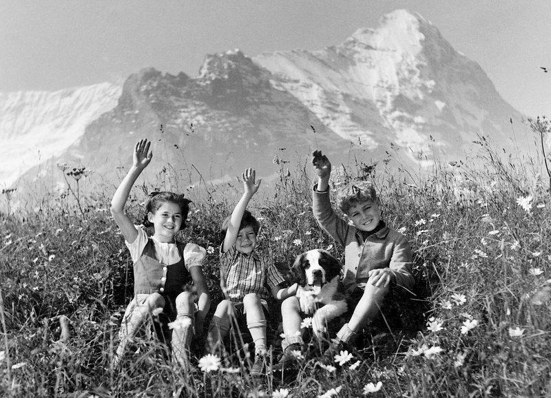 S'Vreneli vom Eggisberg - Frühlingslied Ende gut, alles gut! Elsbeth Sigmund als Vreni, Oliver Grimm als Wolfgang, Martin Andreas Fueter als Jöggi SRF/Dilbin-Filmproduktion – Bild: SRF1