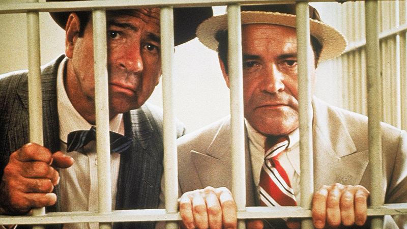 Extrablatt Walter Matthau als Walter Burns, Jack Lemmon als Hildy Johnson SRF/1974 Universal Pictures – Bild: SRF1