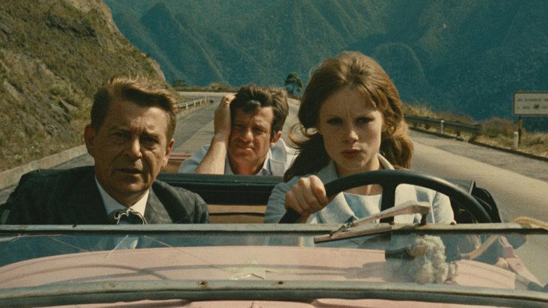 Abenteuer in Rio Jean Servais als Prof. Norbert Catalan, Jean-Paul Belmondo als Pvt. Adrien Dufourquet, Françoise Dorléac als Agnès Villermosa SRF/1964 TF1 Droits Audiovisuels – Bild: SRF1