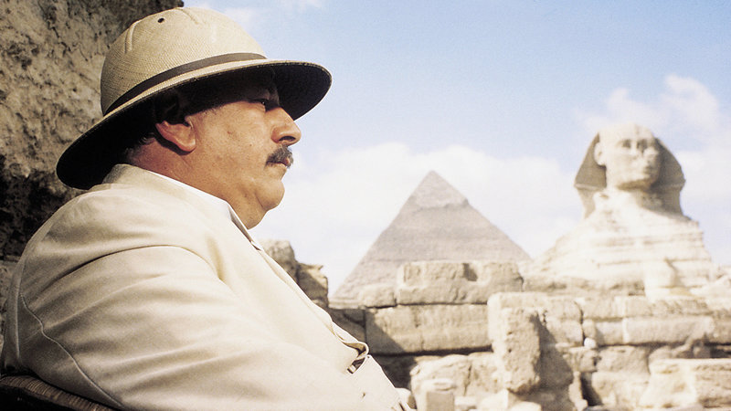 Tod auf dem Nil Peter Ustinov als Hercule Poirot SRF/Studiocanal – Bild: SRF1