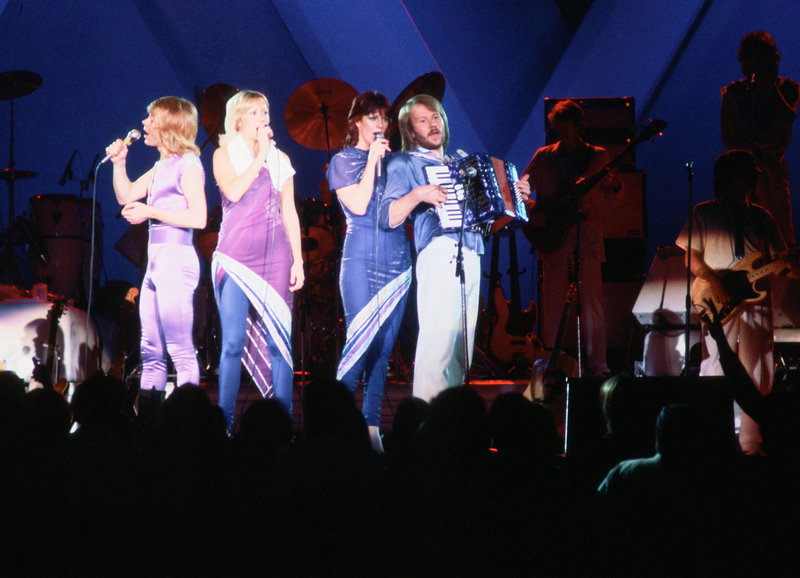 ABBA – Bild: SRF/Kenneth Thoreén