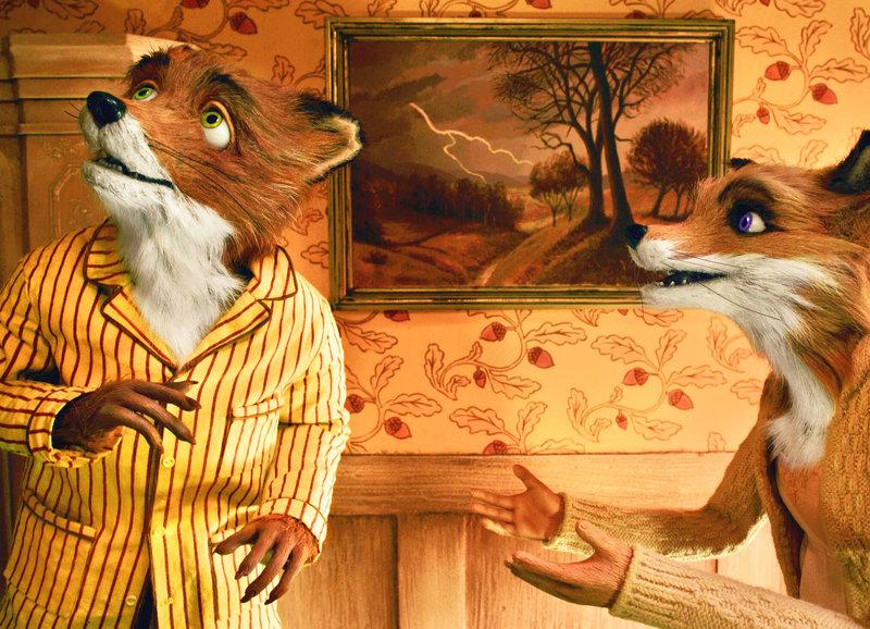 Ein hübsches Paar: Mr. Fox, Mrs. Fox – Bild: SRF/Twentieth Century Fox Film Corporation/Indian Paintbrush Productions LLC