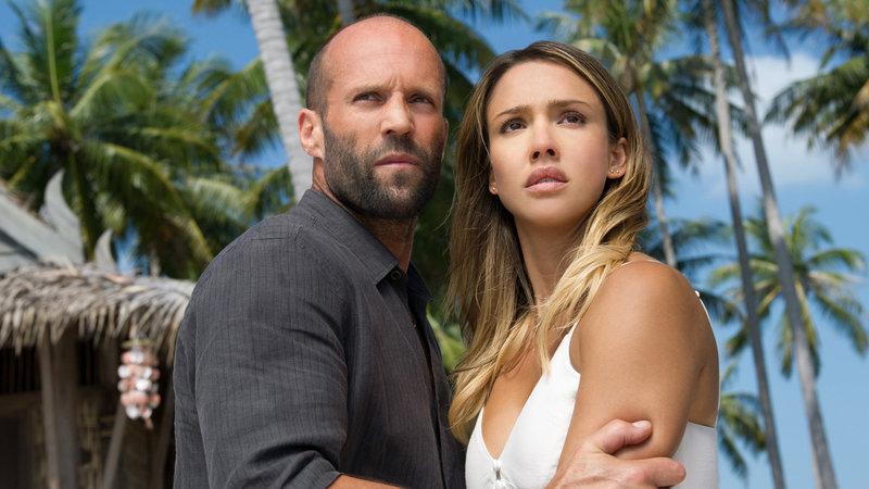 The Mechanic 2: Resurrection Jason Statham als Arthur Bishop, Jessica Alba stars als Gina SRF/Telepool – Bild: SRF2