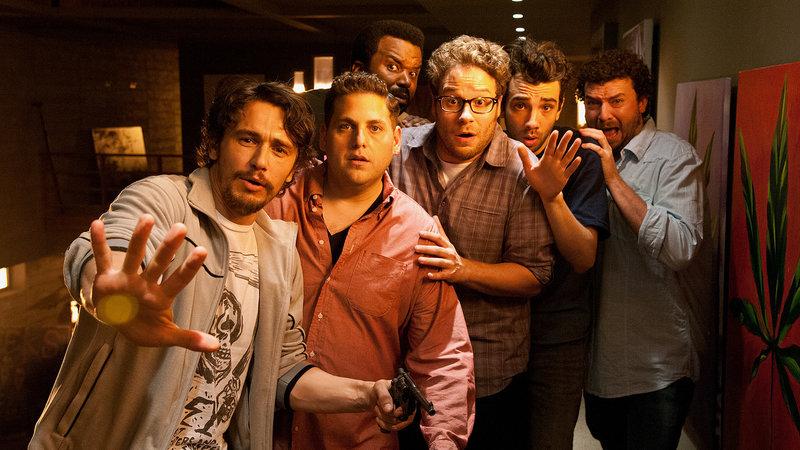 Das ist das Ende James Franco als James Franco, Jonah Hill als Jonah Hill , Craig Robinson als Craig Robinson, Seth Rogen als Seth Rogen, Jay Baruchel als Jay Baruchel, Danny McBride als Danny McBride SRF/2013 Columbia Pictures Industries, Inc. – Bild: SRF2