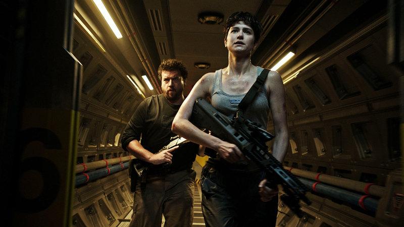 Alien: Covenant Danny McBride als Tennessee, Katherine Waterston als Daniels SRF/2017 Twentieth Century Fox Film Corporation – Bild: SRF2