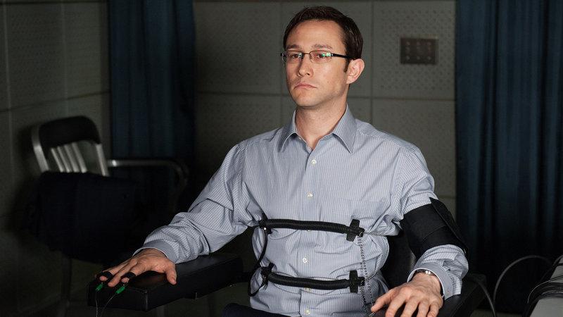 Snowden Joseph Gordon-Levitt als Edward Snowden SRF/Universum Film – Bild: SRF2