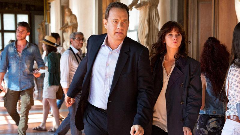 Inferno Tom Hanks als Robert Langdon, Felicity Jones als Sienna Brooks SRF/2016 CTMG, Inc. – Bild: SRF2