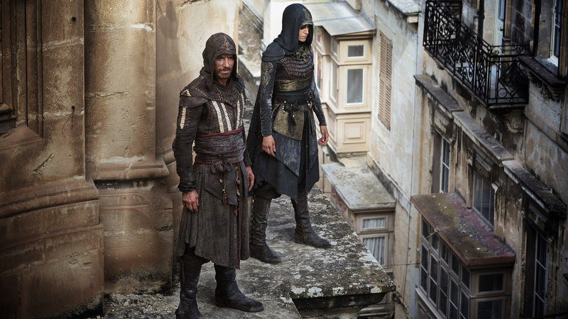 Assassin's Creed Michael Fassbender als Cal Lynch / Aguilar, Ariane Labed als Maria SRF/016 Twentieth Century Fox Film Corporation/ Ubisoft Motion Pictures Assassin's Creed – Bild: SRF2