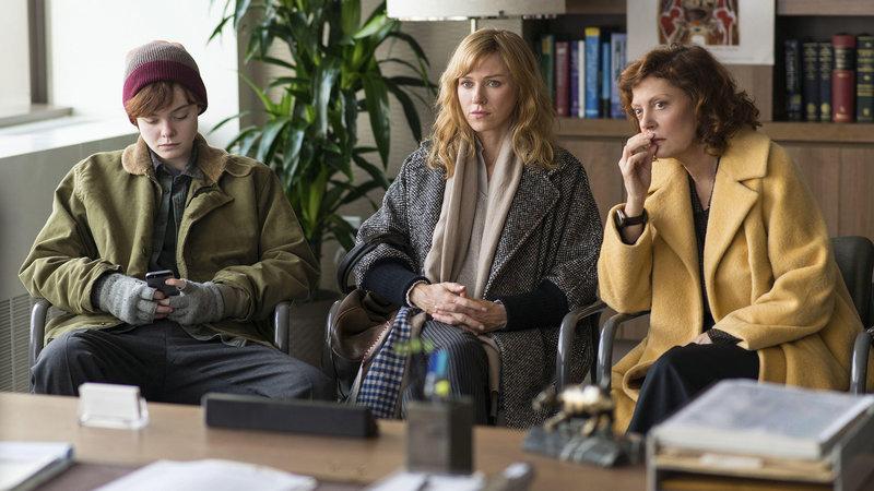 Alle Farben des Lebens Elle Fanning als Ray, Naomi Watts als Maggie, Susan Sarandon als Dolly SRF/Elite Film – Bild: SRF2