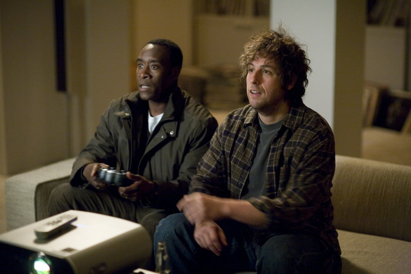 Don Cheadle (left) and Adam Sandler (right) star in Columbia Pictures' Reign Over Me. – Bild: TV25