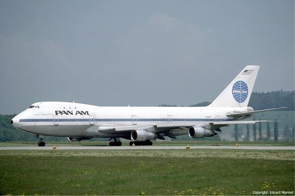 Pan-Am-Flug 73 auf dem Flughafen Zürich im Mai 1985 – Bild: Eduard Marmet / Discovery Communications, Inc.