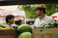 Neal Caffrey (Matt Bomer, r.) – © 2012 NBCUniversal, Inc.