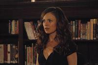 Während einer Benefizveranstaltung in der Bibliothek wird Ingrid (Rachel Boston) von einem besonders zudringlichen Verehrer belästigt ... – © 2013 Lifetime Entertainment Services, LLC. All rights reserved.v Lizenzbild frei