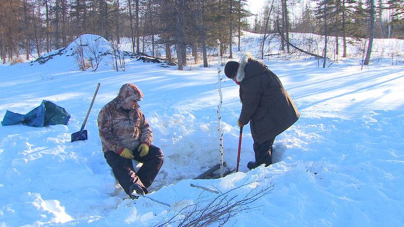 Yukon Man Schwere Zeiten