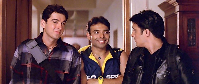 Karan (Jimmy Shergill, re), Sameer (Jugal Hansraj, li), Vicky (Uday Chopra, Mitte) – Bild: Zee.One