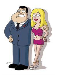 Stan und Francine – © RTL Nitro