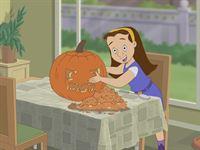 Moni freut sich riesig auf das Halloween-Fest. – Bild: KI.KA/Amberwood Entertainment