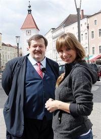 Nina Saurugg, Werner Gruber. – © ORF III