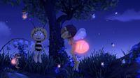 Dank Majas Freunden wird selbst die dunkelste Nacht hell erleuchtet. – © ZDF und Studio 100 Animation
