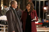 Raymond 'Red' Reddington (James Spader) und Elizabeth Keen (Megan Boone) – © RTL Crime