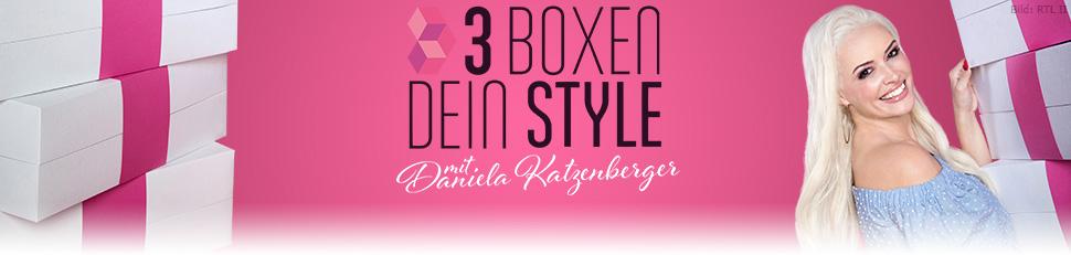 3 Boxen, dein Style