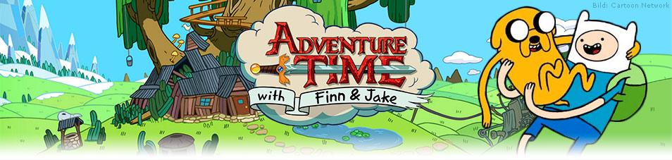 Adventure Time – Abenteuerzeit mit Finn und Jake
