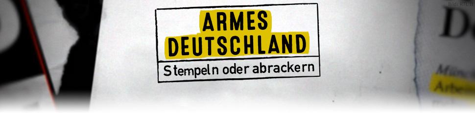 Armes Deutschland – Stempeln oder abrackern?