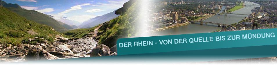 Der Rhein – Von der Quelle bis zur Mündung