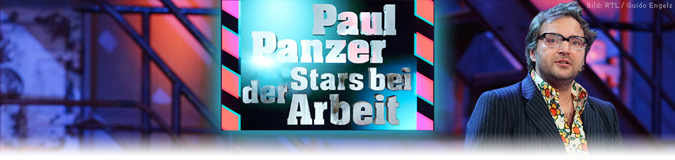 Paul Panzer – Stars bei der Arbeit