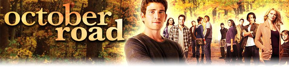 Bildergebnis für Logo October Road Fernsehserie