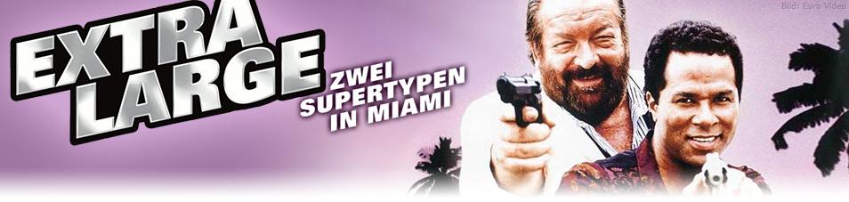 Zwei Supertypen in Miami
