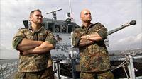Die spannenden Abenteuer der beiden Minentaucher Kollmann (re.) und Nagel (li.) gehen weiter. Ihr Ziel: Sie mĂśchten Teil der Boardingkompanie der Marine werden. – © RTL II