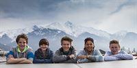 V.l.n.r.: Philipp, Lukas, Felix, Joel und Tom – © ZDF/Daniel Zangerl