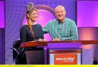 """SWR Fernsehen """"MEISTER DES ALLTAGS - DAS SWR WISSENSQUIZ"""", am Montag (05.05.14) um 22:30 Uhr. Team: Enie van de Meiklokjes und Bodo Bach. – © SWR/Peter A. Schmidt"""